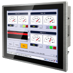 R19ID7T-PPM1 Panel PC with Embedded Intel® Atom D2550 Dual C